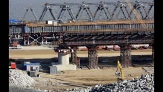 Керченский мост 2017 13 Февраля