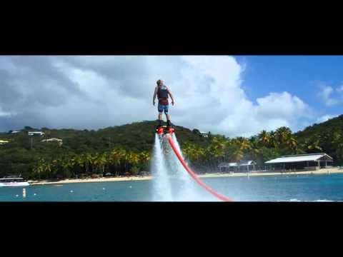 Flyboarding in St. Thomas USVI
