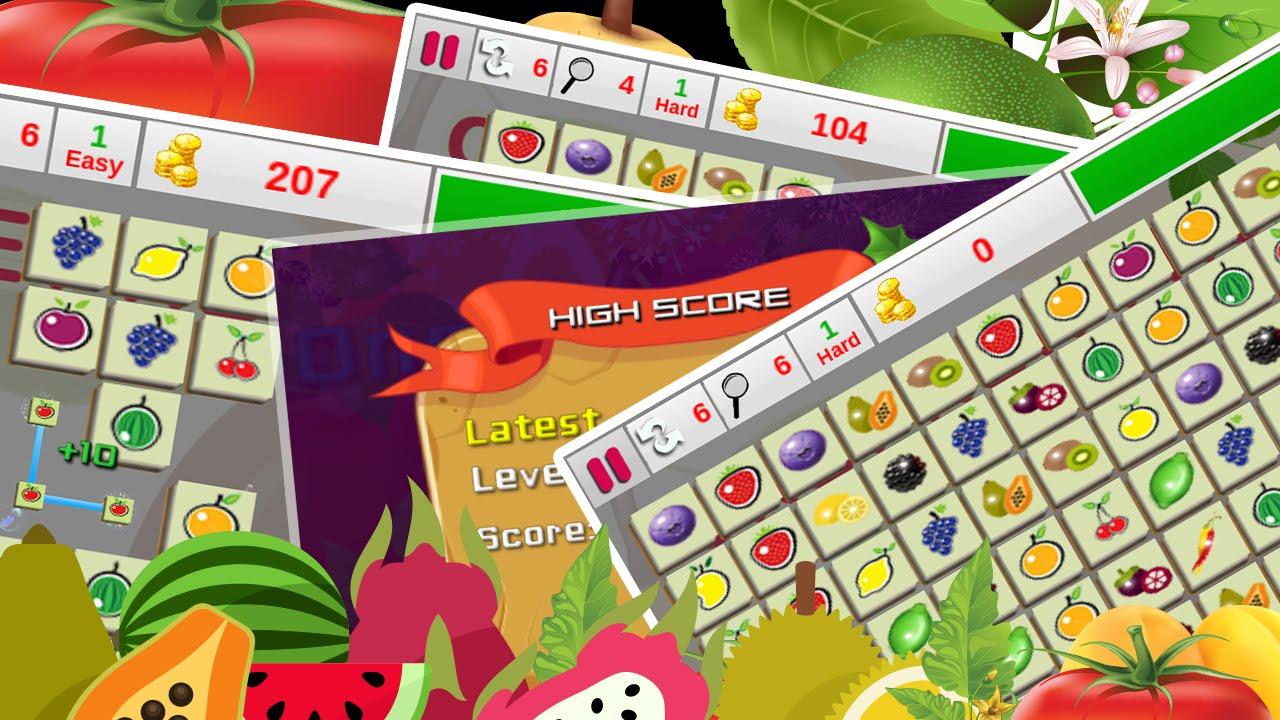 Game onet fruit - Onet New Fruits