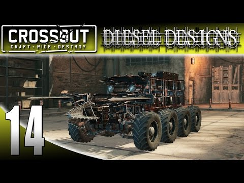 Let's Play CROSSOUT Gameplay: EP14: NEW Update!  Speedy Melee Build with Drone! (HD Vehicle Shooter)