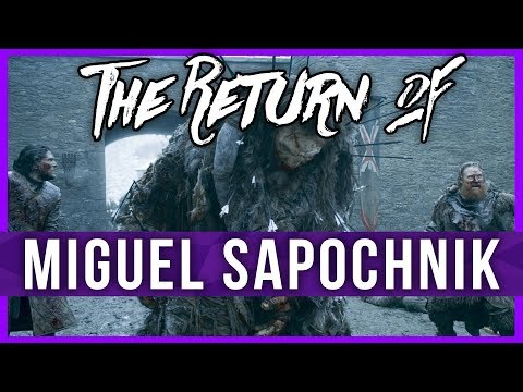 A Podcast of Bronze and Iron Episode # 1 : The Return of Miguel Sapochnik