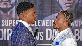 Errol Spence Jr. vs Shawn Porter FACE TO FACE in Las Vegas | Boxing