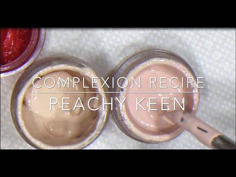How to Mix my Peachy Keen Complexion Paint for Reborn Dolls