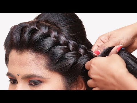 Beautiful Cute Hairstyle for beginners || Hairstyle for girls | Party hairstyles | Hairstyles thumbnail