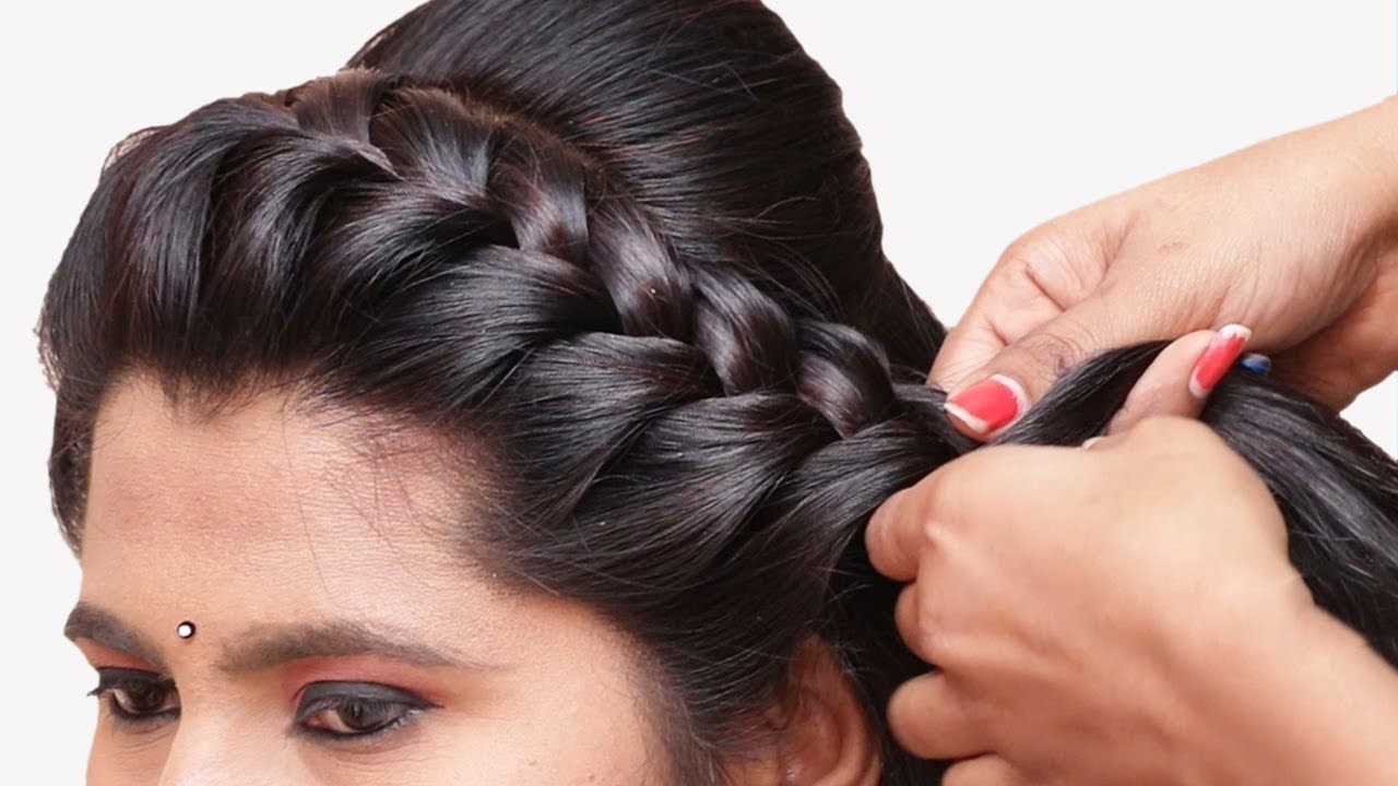 Beautiful Cute Hairstyle for beginners || Hairstyle for girls | Party hairstyles | Hairstyles ...