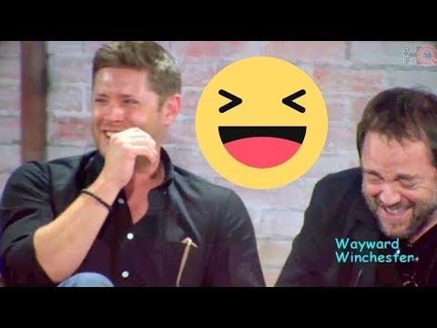Jensen Jared & Misha's HILARIOUS Mark Sheppard Impression & Mark LOSES IT!
