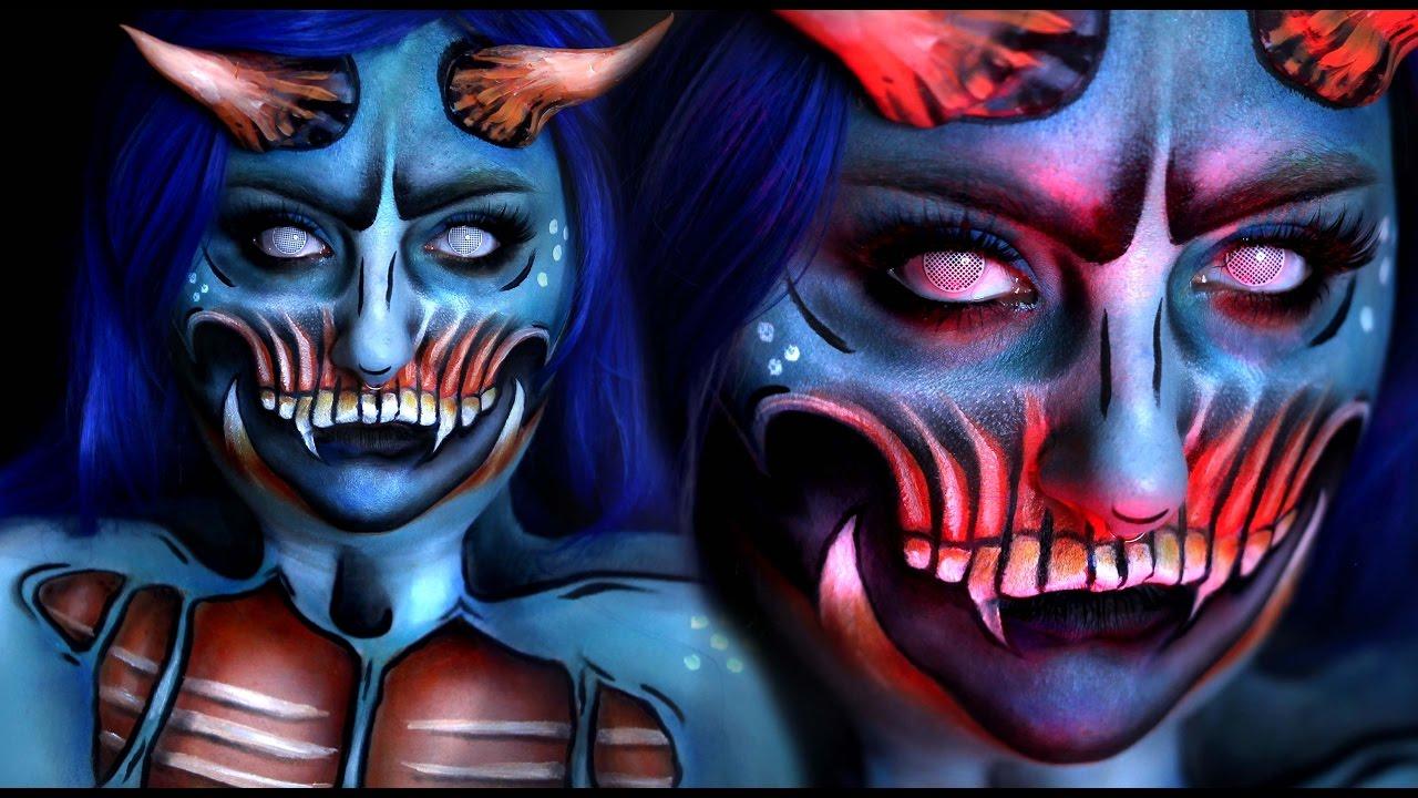 Resultado de imagen de demon makeup