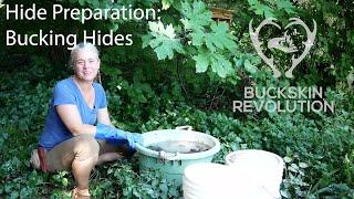 Hide Prep: Bucking Hides