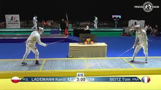 Novi Sad European Championships 2018 Day06 T16 MS POL vs FRA