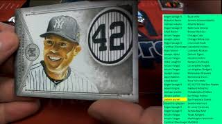 2019 Topps Museum Collection Baseball Hobby Box ID 19TOMUSBBPYT109