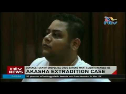 Akasha extradition case: Defence team of suspected drug barons want clients handed IDs