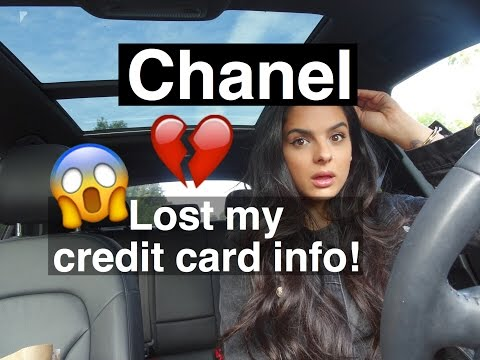 Vlog   Chanel lost my Credit Card info!