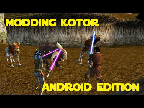 Modding KOTOR: Android Edition - All Party Jedi, Sleheyron by Negative Zero