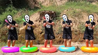 خمسة قرود صغيرة🙈Five Little Monkey5   유아를위한 교육 비디오