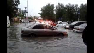 Потоп в Тюмени или как тюменцы учили машины плавать(Потоп в Тюмени., 2013-07-12T18:55:40.000Z)