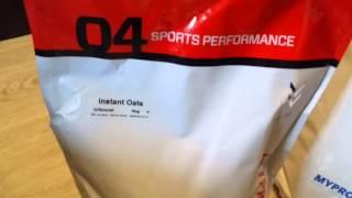 заказ спортивного питания с Myprotein.com / Распаковка посылки