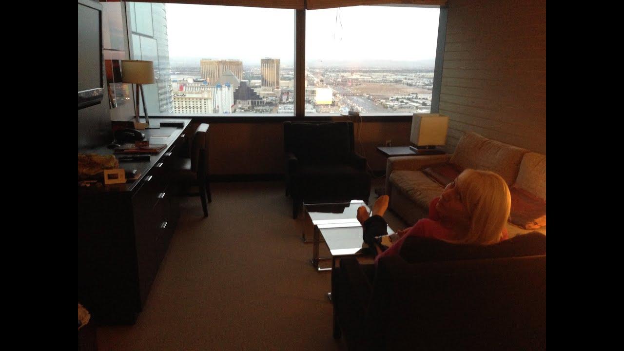 Vdara Las Vegas One Bedroom Suite Youtube