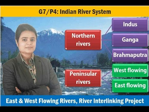 G7/P4: Indian Geography-Rivers of India & Drainage System