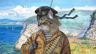Кот Ватник станет символом Крыма