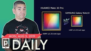 Huawei Mate 30 Pro vs Galaxy Note 10+ Camera: Woah.