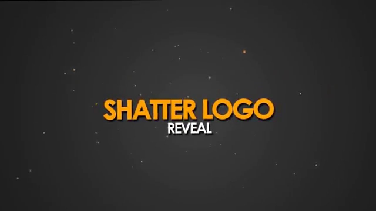 Shatter Logo Reveal(FREE) : After effects template - YouTube