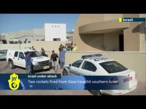 Israel under attack: two rockets fired from Gaza strike residential area in southern Israel