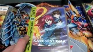 Kaze No Stigma DVD Unboxing