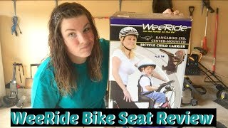 Video WeeRide Kangaroo Child Bike Seat Review download MP3, 3GP, MP4, WEBM, AVI, FLV Agustus 2018