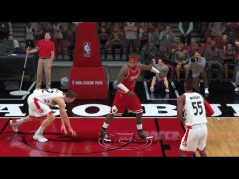 NBA 2K18 Myplayer did the A.I