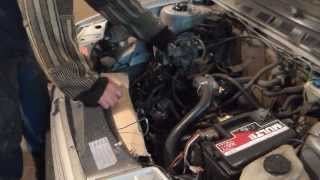 видео Toyota Surf LN130 2lte