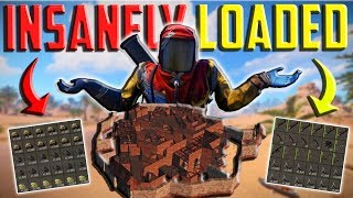 EXPLORING the MOST INSANE Decayed BASE I HAVE EVER SEEN || RUST Ft. Welyn