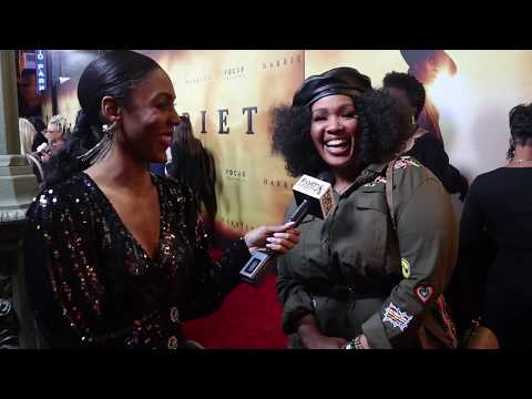 Goo Goo Atkins Gives Styling & Fashion Advice At The HARRIET Premiere