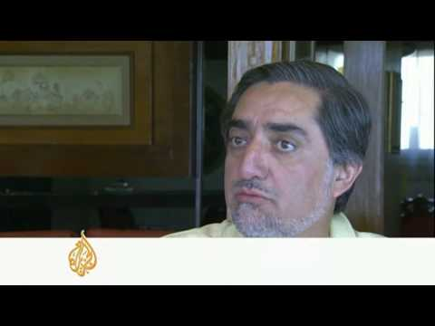 Interview with Afghan candidate Abdullah Abdullah - 21Aug09