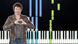 James Blunt - The Greatest (Piano Tutorial)