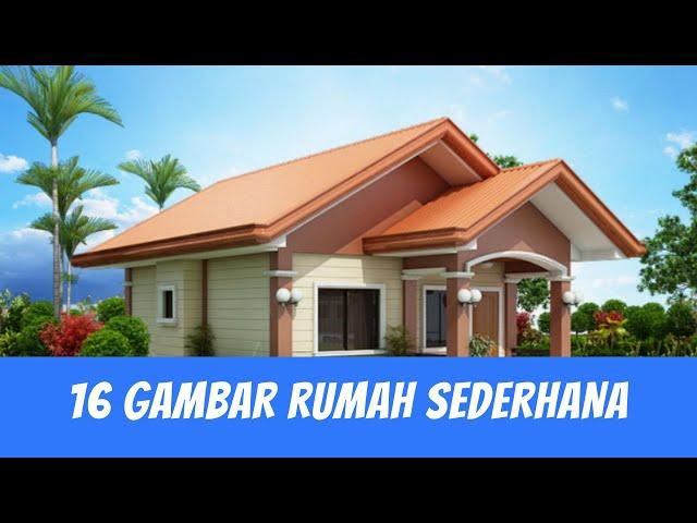 Saran Desain Rumah Desa Modern Serta Kekinian Rumah Kampung 2020