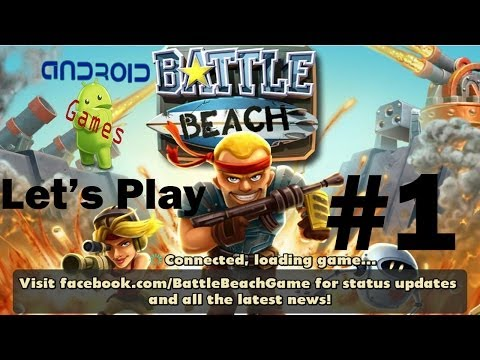 Let's Play Battle Beach (Android) Episode #1