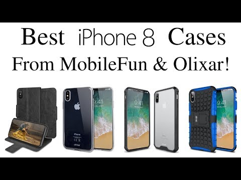 iPhone X - Best iPhone X Cases From MobileFun & Olixar!