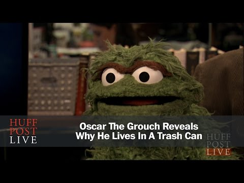 Oscar The Grouch Reveals Why He Lives In A Trash Can