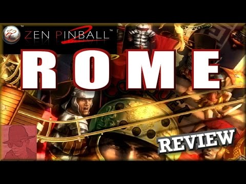 Rome - Zen Pinball 2 - PS3 - with Commentary !!