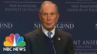 Mike Bloomberg: President Donald Trump 'Failed At Business...Failing At Government' | NBC News