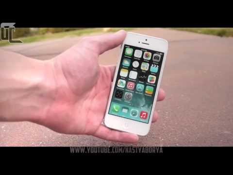 Краш тест iphone 1,2,3,4,5,6