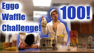 Eggo Waffle Challenge (100 Eggo Waffles)
