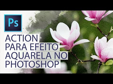 🚀 BAIXE GRATUITAMENTE: Action para efeito aquarela no Photoshop from YouTube · Duration:  13 minutes 23 seconds