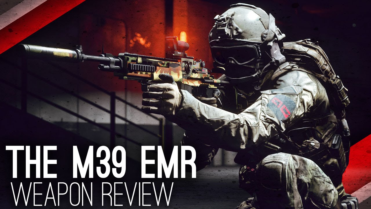 Download M39 EMR Weapon Review ►Are DMRs A Competitive Option? (Battlefield 4 Commentary/Gameplay)