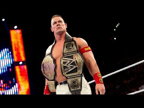 John Cenas 16 World Championship victories: WWE Milestones