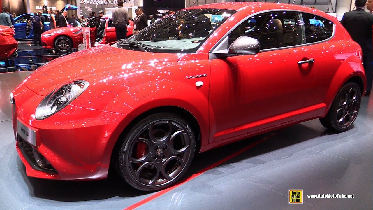 2017 alfa romeo mito veloce exterior and interior walkaround 2017 geneva motor show youtube. Black Bedroom Furniture Sets. Home Design Ideas