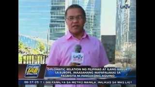 Working visit ni Pangulong Aquino sa Europa, nagsimula na