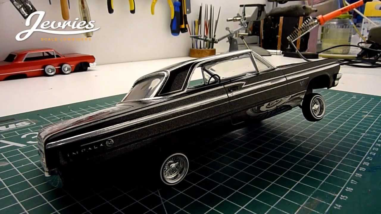 1  25 Rc  U0026 39 64 Chevy Impala Dancing Lowrider