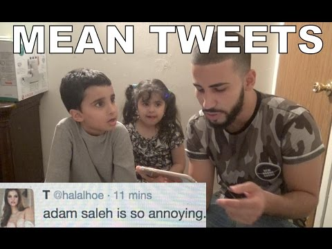 READING MEAN TWEETS IN FRONT OF MY FAMILY!!