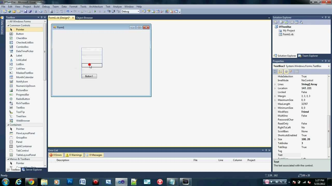 Beginner Visual Basic